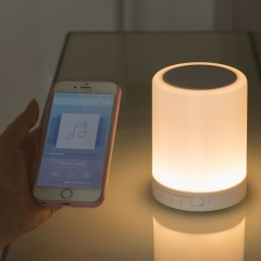 Wireless Speaker with Touch Lamp
