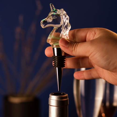 Illuminating Unicorn Bottle Stop Large Image
