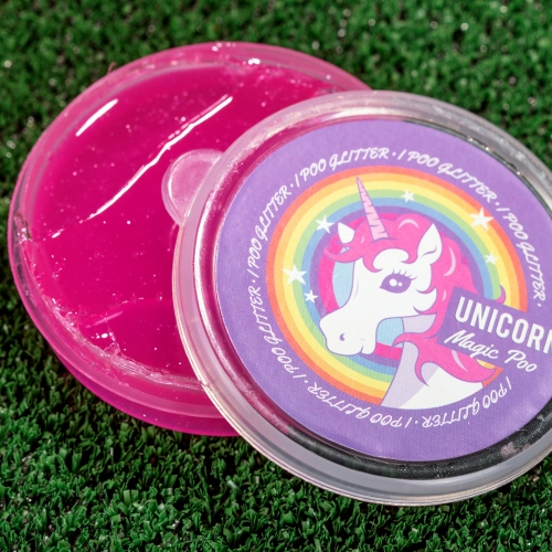 Einhorn-Glitzer-Knete - Magic Unicorn Poo