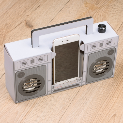 Retro Touch Boombox Speaker Large Image
