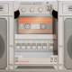 Retro Touch Boombox Speaker thumbnail image 6