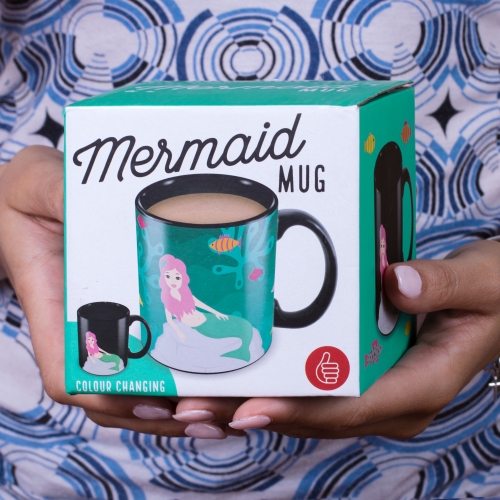 Mermaid Heat Change Mug Large Image
