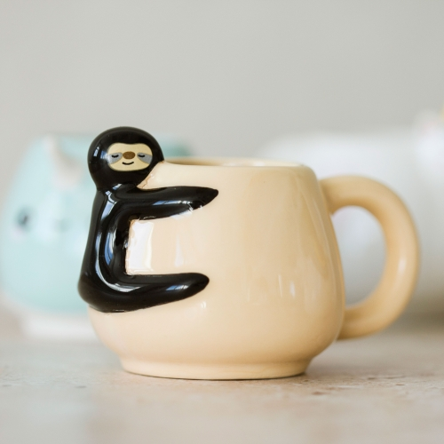 Animal Espresso Mug Set