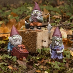 Mini Zombie Gnomes - Set of 3