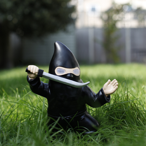 Thumbs up france nain de jardin ninja ref 0001300 - Le nain de jardin ...