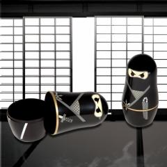 Ninja Schachtelpuppen - 6er Set