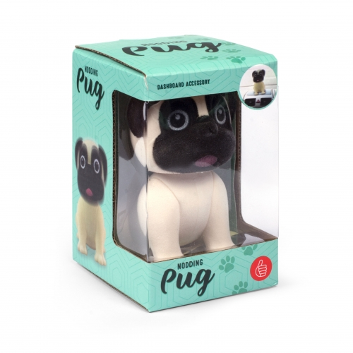 Nodding Pug Large Image