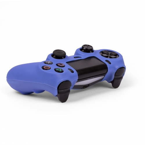 Silicone Controller Skin - Blue : Playstation 4