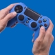 Silicone Controller Skin - Blue : Playstation 4 thumbnail image 0
