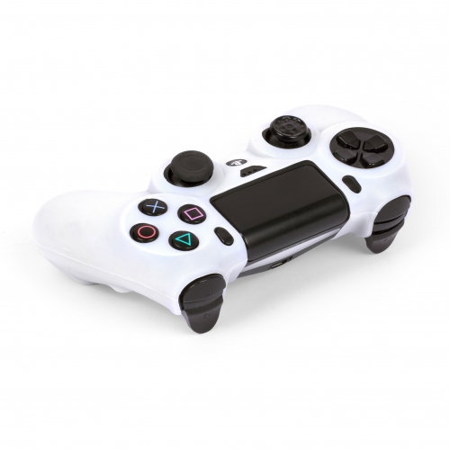 Silicone Controller Skin - White : Playstation 4