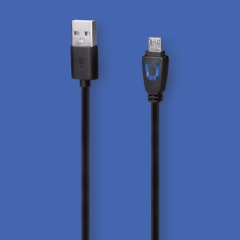 3m USB Charge & Play LED Cable : Playstation 4