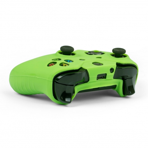 Silicone Controller Skin - Green: XBOX ONE Large Image
