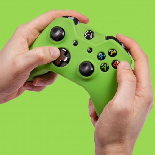 Silicone Controller Skin - Green: XBOX ONE
