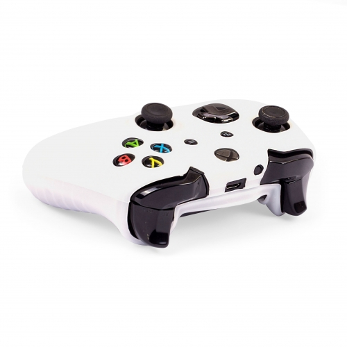 Silicone Controller Skin - White : XBOX ONE Large Image