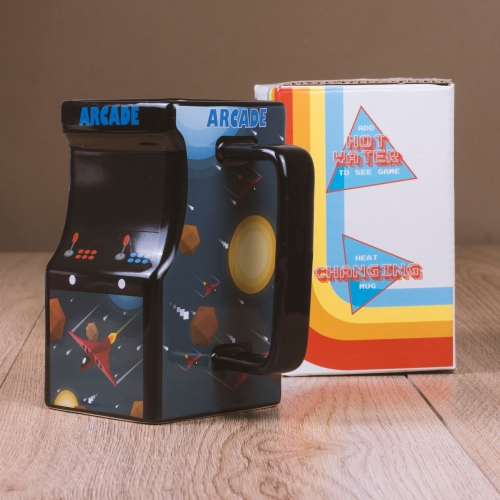 Colour Changing Arcade Mug