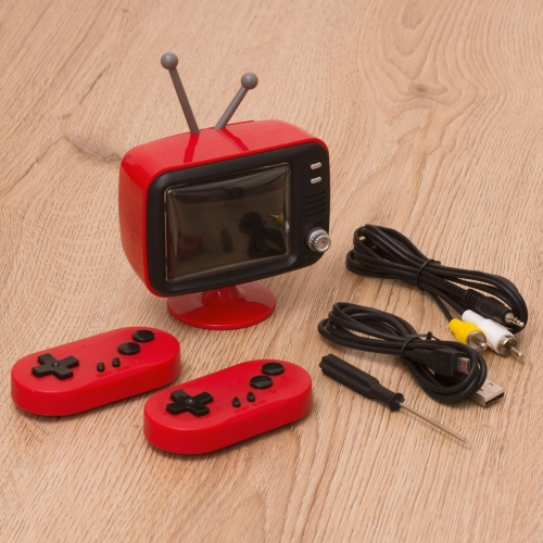 Retro Mini TV Console