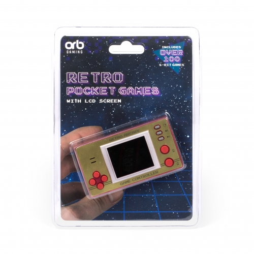 Retro Pocket Games with LCD screen Large Image
