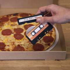 Tape Deck Pizza Cutter
