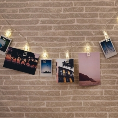 LED Lichterkette Foto-Clip - Photo Clip String Lights