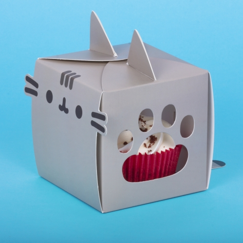 Pusheen Party - Transportbox für Cupcakes (8er Pack)