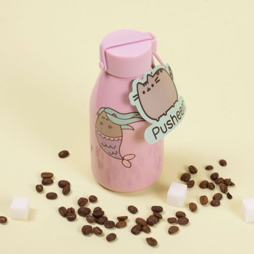 Pusheen - Ceramic Travel Bottle Large Image