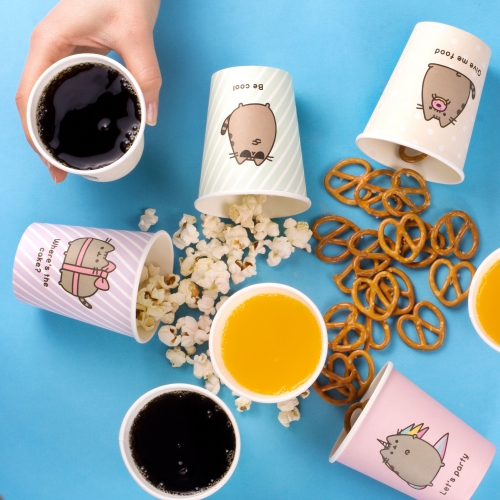 Pusheen - Paper Cups