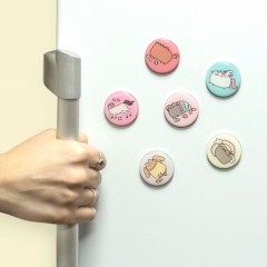 Pusheen - Circular Magnets