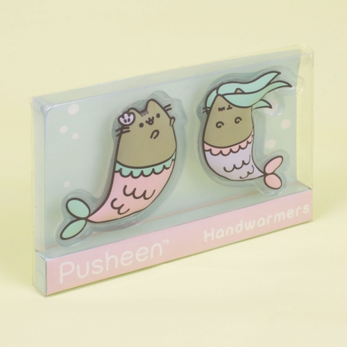 Pusheen - Mermaid Hand Warmers Large Image