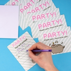 Pusheen - Party Invites