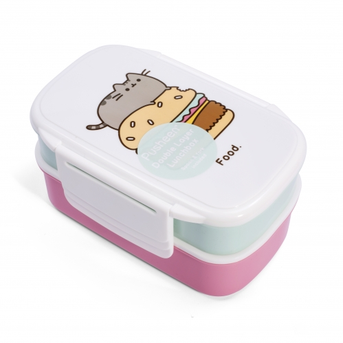 Pusheen - Steckbare Brotdose (2er Set)