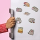 Pusheen - Fridge Magnets thumbnail image 0