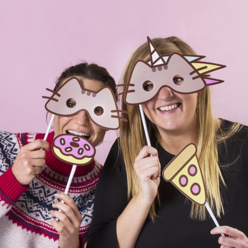 Pusheen - Photo Booth Kit Large Image