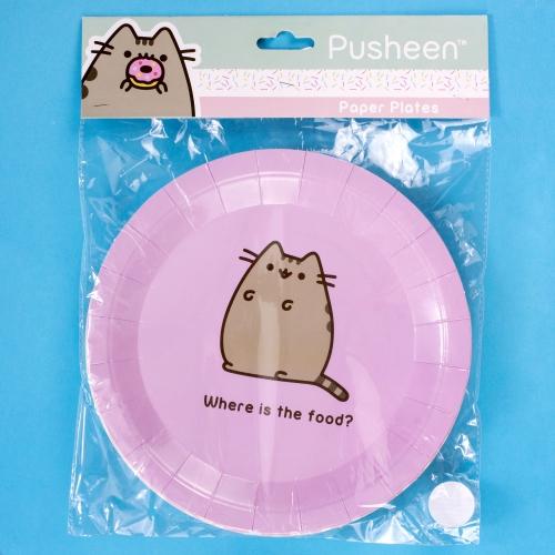 Pusheen- Paper Plates Large Image