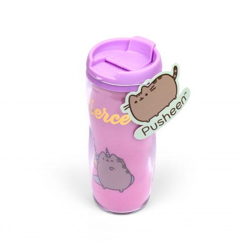 Plastic Travel Mug - Fierce