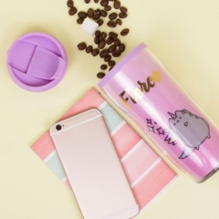 Pusheen - Plastic Travel Mug - Fierce