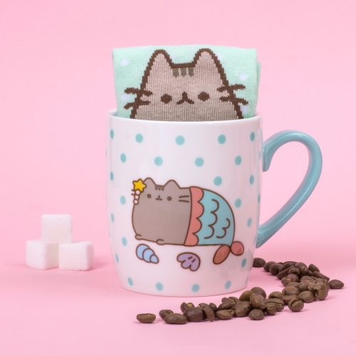 Pusheen - Sock in a Mug - Mermaid