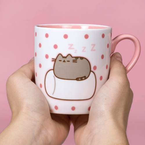 Pusheen - Sock In a Mug - Marshmallow Large Image