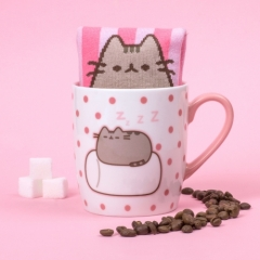 Pusheen - Sock In a Mug - Marshmallow