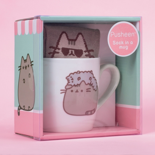 Pusheen - Sock in a Mug
