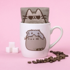 Pusheen - Tasse mit Socke - Pusheen and Stormy