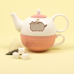 Pusheen - Tea For One Set (Gold)