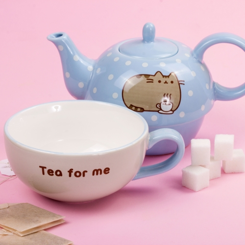 Pusheen - Tea For One Set Large Image