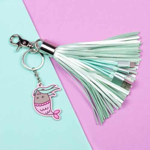 Pusheen Tech - Tassel Charger