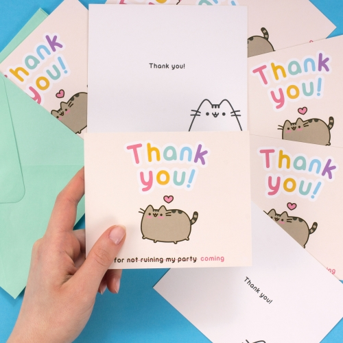 Pusheen - Thank You Notes Large Image
