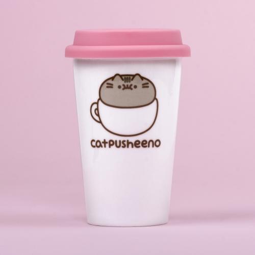 Pusheen - Ceramic Travel Mug - Catpusheeno Large Image
