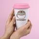 Pusheen - Ceramic Travel Mug - Catpusheeno thumbnail image 0
