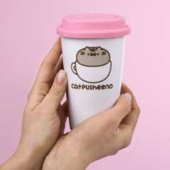 Pusheen - Ceramic Travel Mug - Catpusheeno