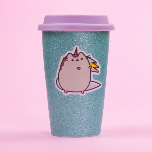 Pusheen - Ceramic Travel Mug - Unicorn Large Image