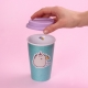 Pusheen - Ceramic Travel Mug - Unicorn thumbnail image 2