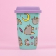 Pusheen - Ceramic Travel Mug - Unicorn Pattern thumbnail image 1